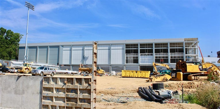 End in Sight for UNC's Athletic Construction Project