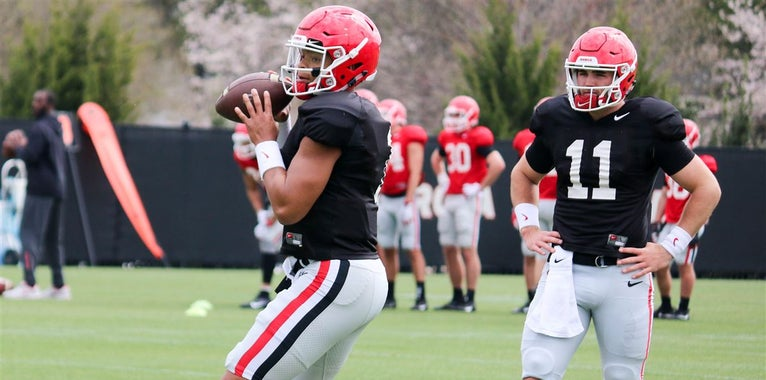Jake Fromm and Justin Fields better be ready to play