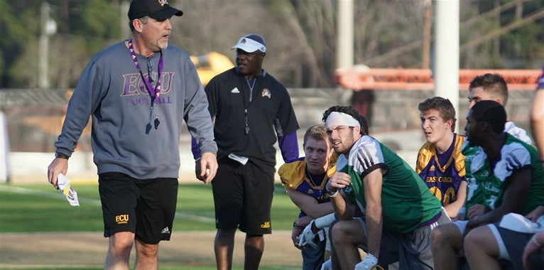 Observations from ECU's second spring practice