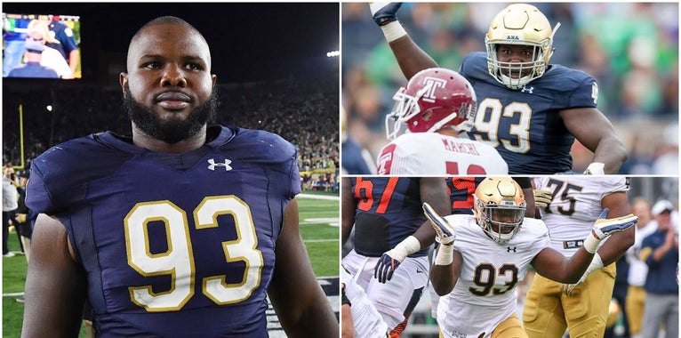 What drives Jay Hayes beyond Notre Dame