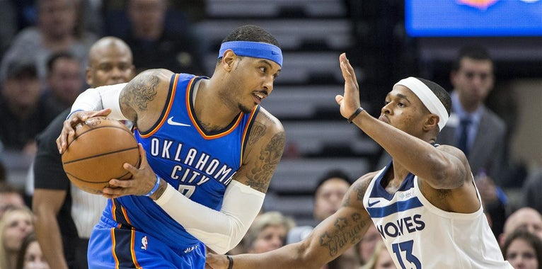 Betting odds for 10 most likely teams to sign Carmelo Anthony