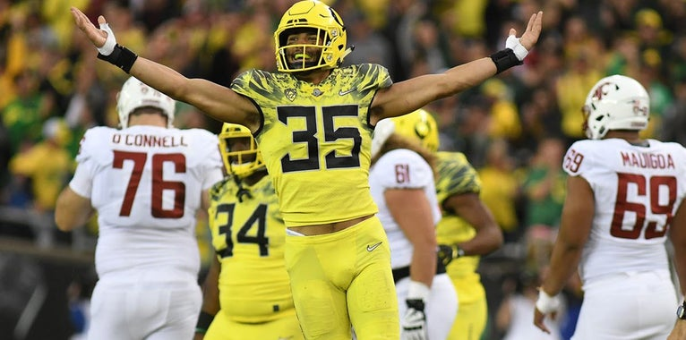 Which position group will be strongest for the Ducks?