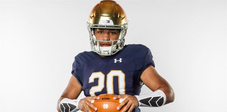 Notre Dame climbs recruiting rankings with Kyren Williams commit
