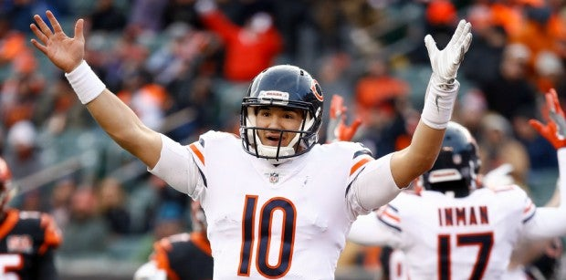 Mitch Trubisky is clearly the captain of the Bears ship