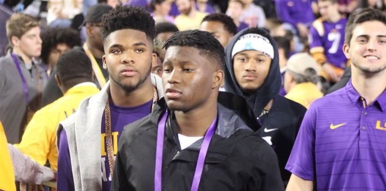 LSU rolls out the red carpet for Cain