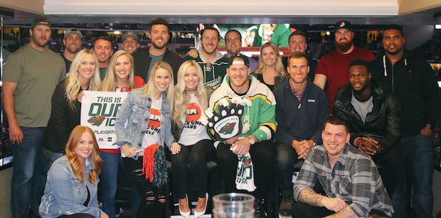 Kirk Cousins, several Vikings present for Wild playoff game