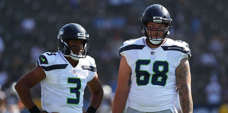 Seahawks updated offensive depth chart: July 20