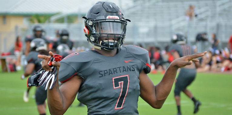 Stevenson Debuts for Southridge With Number of Canes Watching