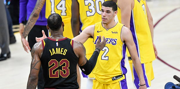 Projecting the Los Angeles Lakers depth chart with LeBron James