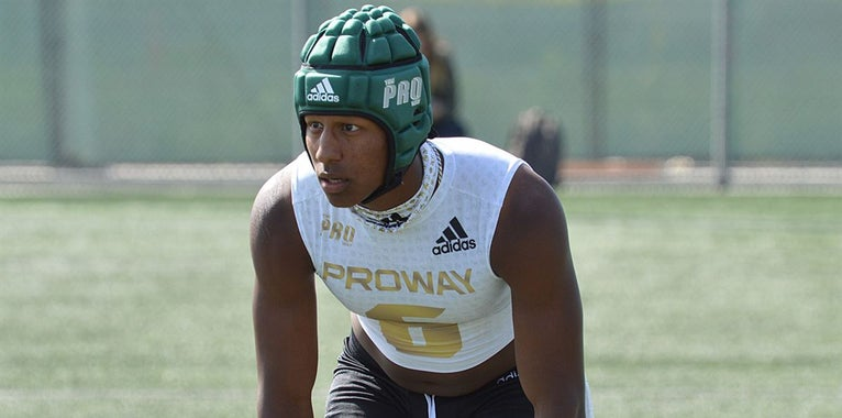 Huskers in final group for four-star athlete