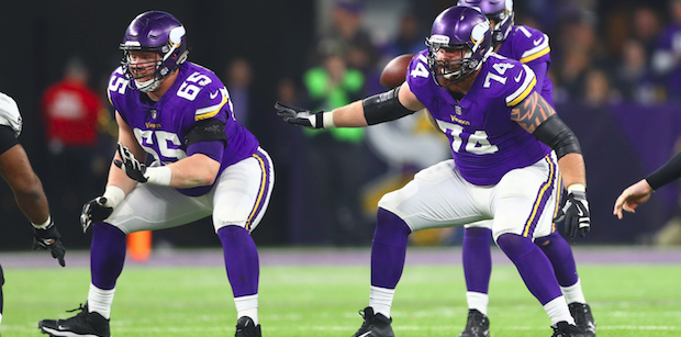 Vikings depth chart: Offensive projection for 2018
