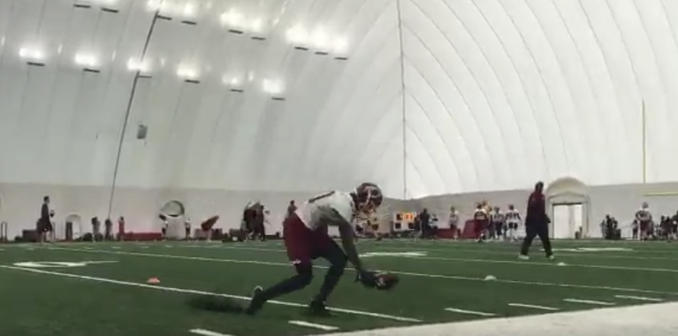 Highlights from Day 2 of Washington Redskins' OTAs