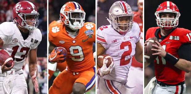 Preseason Consensus Poll: Who'll be in running for CFB Playoff?