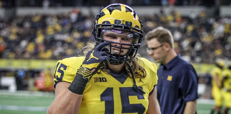 Three Wolverines land on Bednarik Award watch list