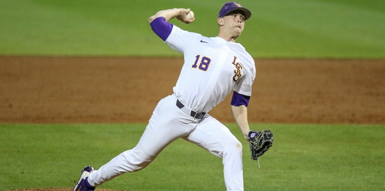 Updates on LSU Tigers baseball injuries pitching plan vs Notre
