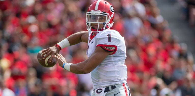 Kirby Smart doesn't envision a redshirt for Justin Fields