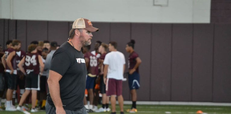 A top Virginia Tech target is currently on campus
