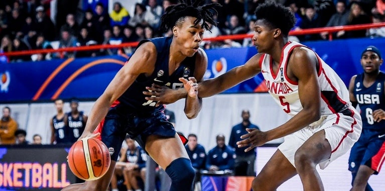 Five Star SF Scottie Barnes Discusses Team USA & Recruiting