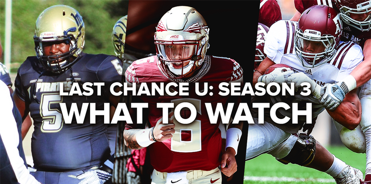 Get to know the likely cast of Last Chance U's third season