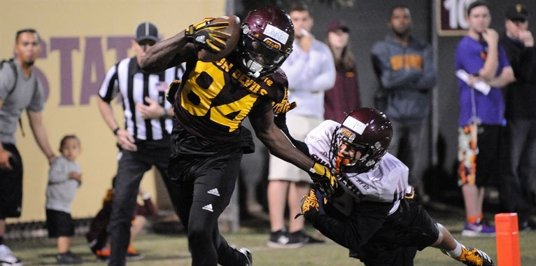 Sun Devils party in first spring game of Herm Edwards era