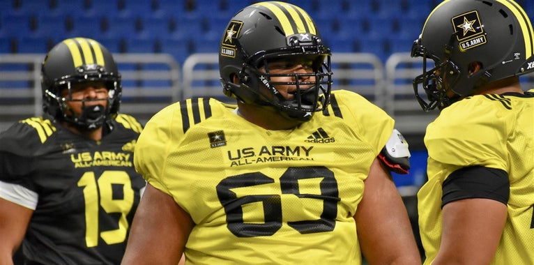 Army Bowl: Top East OL vs. DL one-on-ones