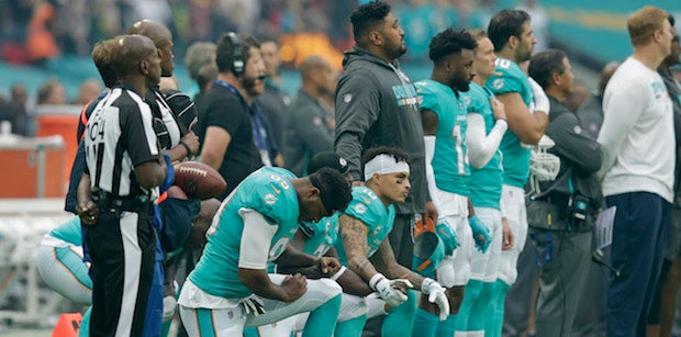 Dolphins include national anthem policy in discipline schedule