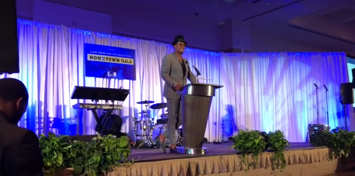 Cam Newton hosts hometown gala for his foundation