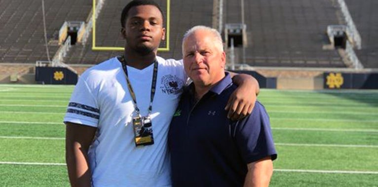 Notre Dame 'high in the discussion' for Saleem Wormley