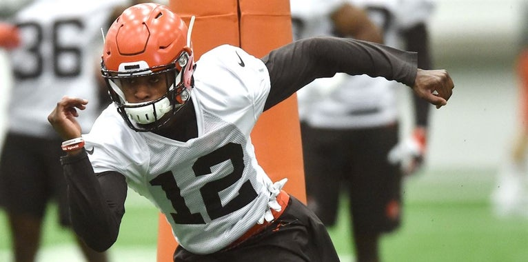 Denzel Ward tied for third-best odds to win Rookie of the Year