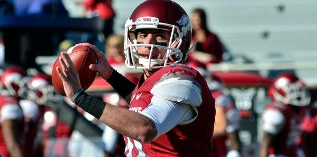 NFL Razorbacks: Brandon Allen enjoying role with upstart LA Rams