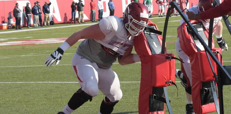 Tidbits and Observations - Arkansas Spring Practice Day 12