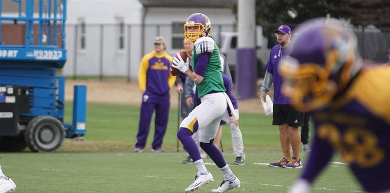 Observations from ECU's Monday Spring Practice