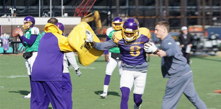 Observations from ECU's Wednesday Practice