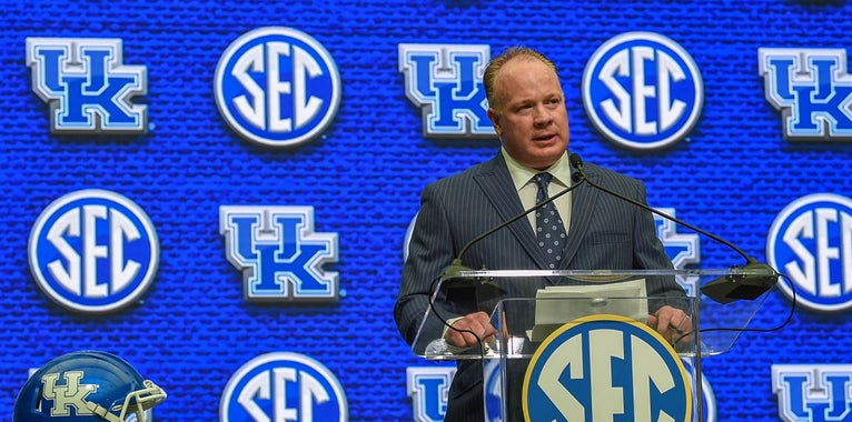 Everything Mark Stoops said at the podium during SEC Media Days