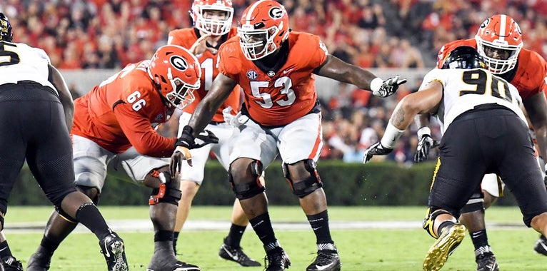 Georgia Bulldogs have 'ton of talent' on the OL