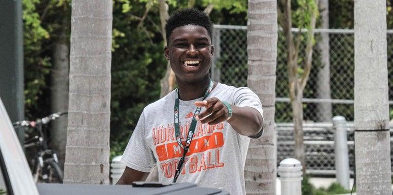 PHOTOS: Recruits at 'Miami Nights' Saturday