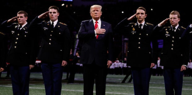 NFL players react to Donald Trump and the National Anthem policy