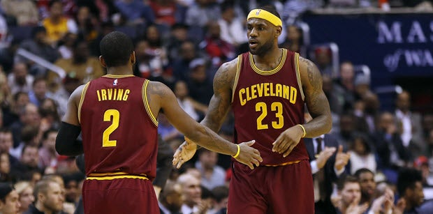Report: LeBron 'devastated' by Kyrie Irving's trade request