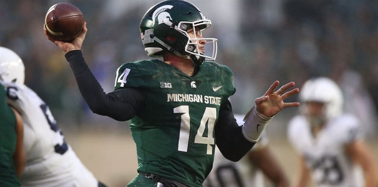 MSU QB Lewerke makes Davey O'Brien Award watch list