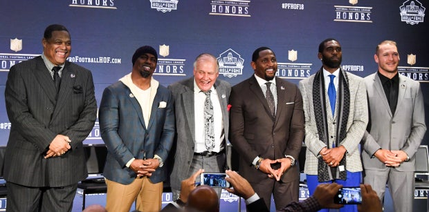 Pro Football Hall of Fame announces speech order for 2018 class
