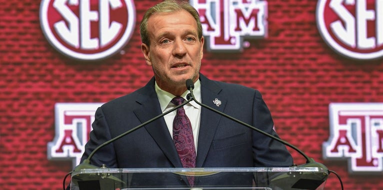 Jimbo Fisher: Texas A&M's 'timetable is now'