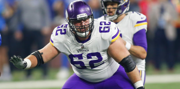 Vikings offensive depth chart prediction for 2018 campaign