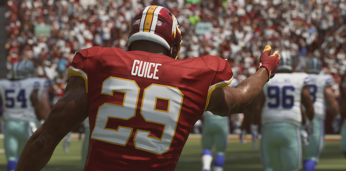 Official Washington Redskins Madden '19 Ratings: Offense