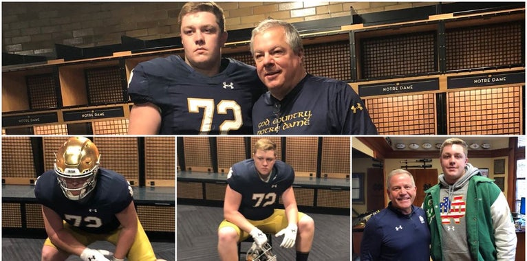 Q&A with Notre Dame commit John Olmstead