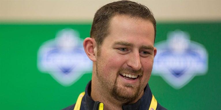 NFL Razorbacks: Skipper fighting to make Lions offensive line