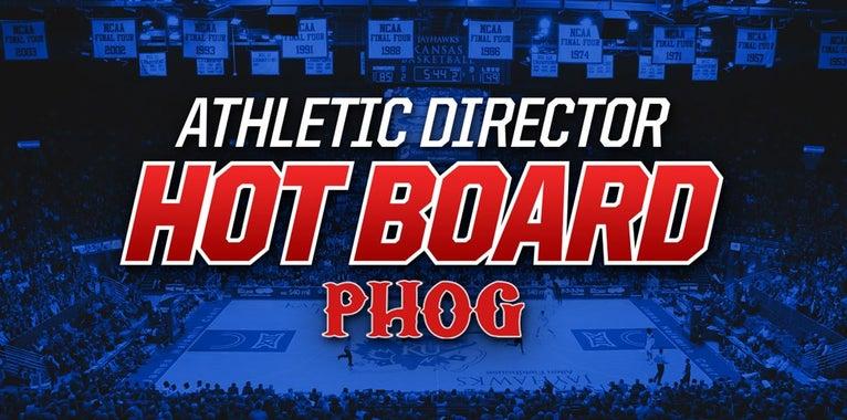 Kansas Jayhawks athletic director hot board