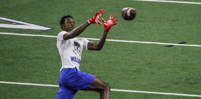 WATCH: UCLA WR Target Jameson Williams at The Opening Finals