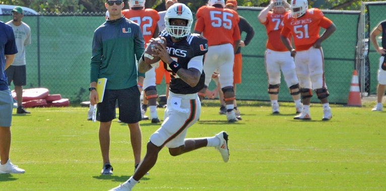 Final Stats in Miami Hurricanes' Three Spring Scrimmages