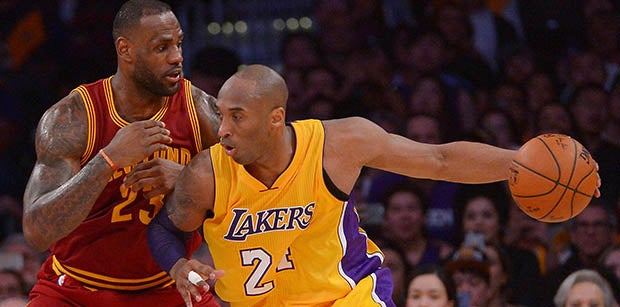 Kobe Bryant asks fans not to compare him to LeBron James