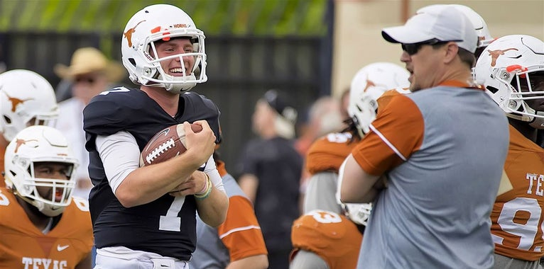 Taking a second 2018 QB is the right call, only call for Texas